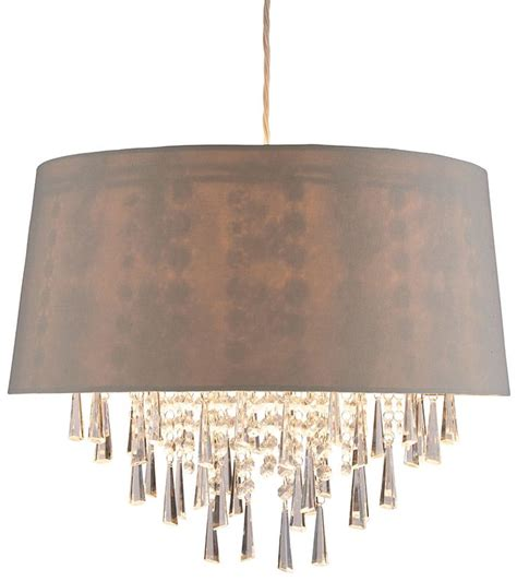 Easy Fit Ceiling Light Shades Juliet Ceiling Pendant Light Our Easy Fit Juliet Ceiling Pendant Light Features A Mocha Shade