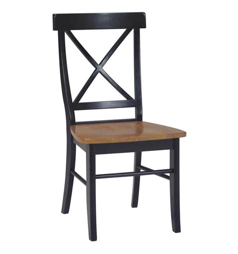 X Back x back side chairs wood you furniture jacksonville fl