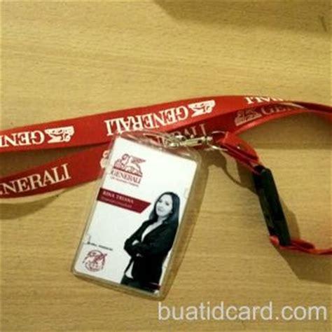 Id Card Holder Tali Gantungan Kartu Name Tag Kulit By Queenballoon tali gantungan id card lanyard murah bandung