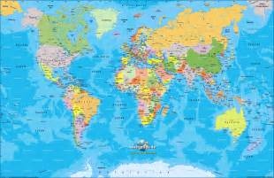 atlas map map of world map of the world politically map in the