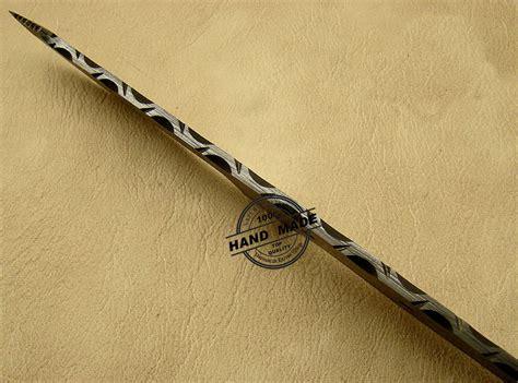 custom knife blanks blank blade damascus skinner knife custom handmade