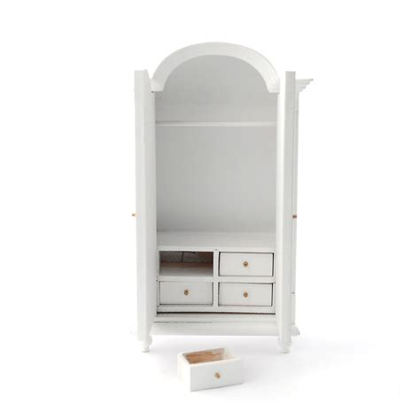 White Wardrobe With Drawers E5103 White Wardrobe With Drawers Minimum World