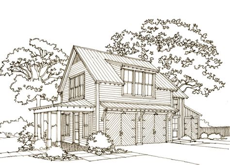 carriage house plans southern living our town plans