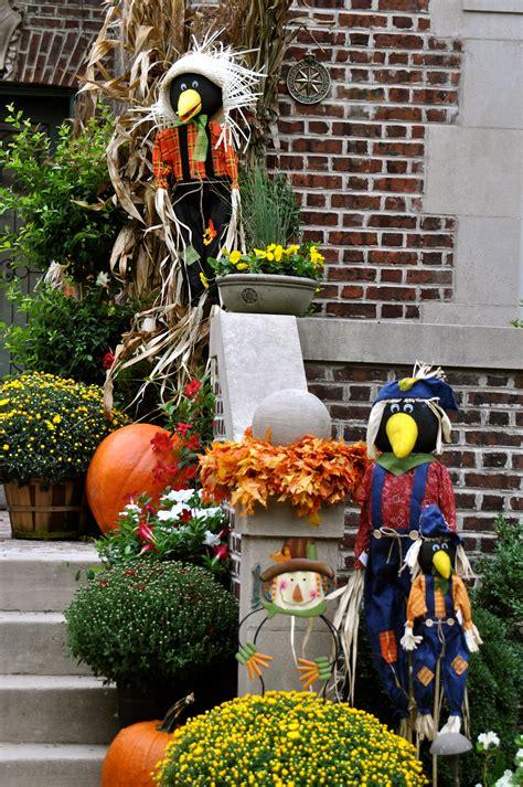 fall yard decor fall decor outdoors pinterest