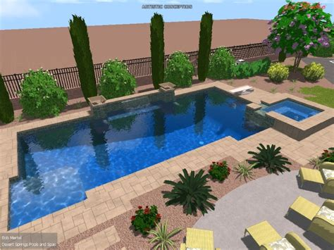 New Las Vegas Swimming Pools Desert Springs Landscaping Llc Las Vegas Landscape