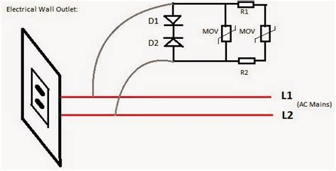 how to test a mov metal oxide varistor surge protector device electronic circuit projects