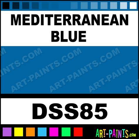 mediterranean blue sosoft fabric textile paints dss85 mediterranean blue paint