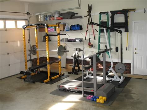 got my garage setup bodybuilding forums