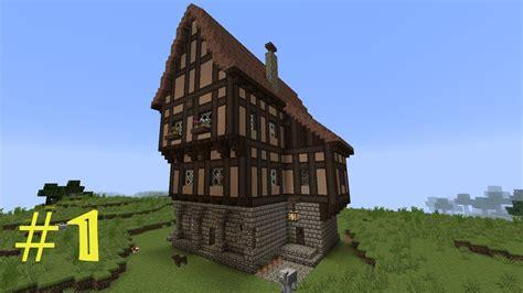 scheune mc minecraft tutorial fachwerkhaus wohnhaus 1