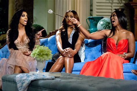 filming the real housewives of potomac reunion see the drama go down tweet recap an explosive rhoa reunion part 1 the real