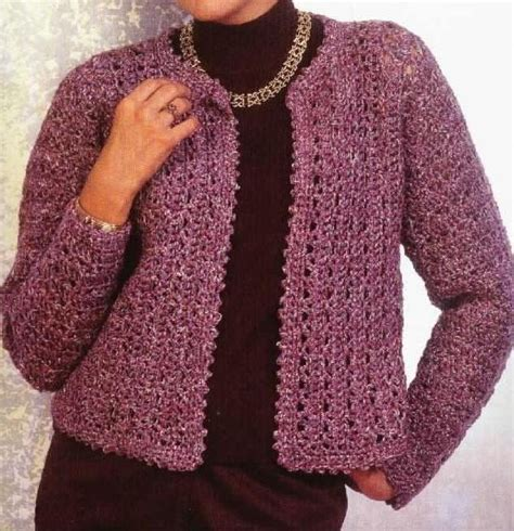 free crochet pattern ladies jersey 66 best images about crochet cardigan patterns on