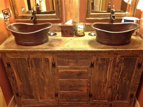 rustic sinks bathroom rustic furniture portfolio rustic other metro by rory s rustic furniture