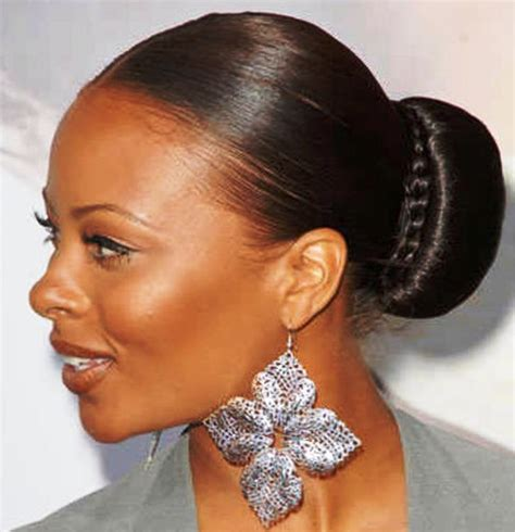 wedding hair buns for black women 15 updo hairstyles for black women who love style