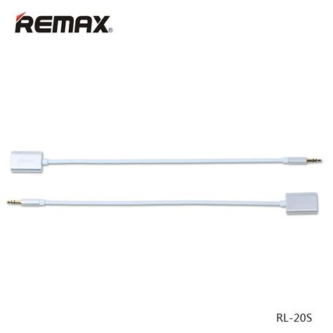 Remax 35mm Aux Cable 2m For Iphone Samsung Htc Android remax official store audio cable 3 5mm aux l100