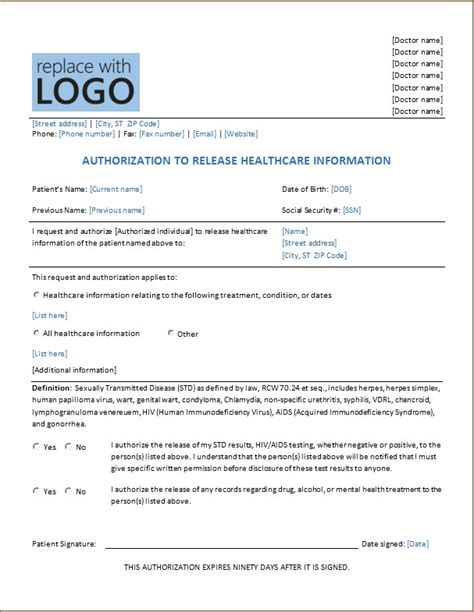 authorization letter hospital authorization letter hospital 28 images sle