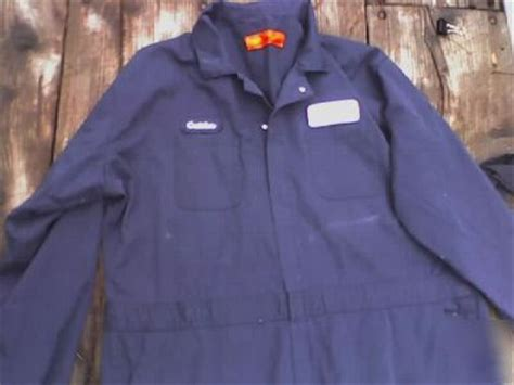 spray painter overalls mens blue work coveralls size 58