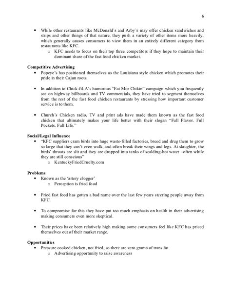 Kfc Study Essay by Cheap Write My Essay Annual Report Kfc Courseworkexles X Fc2