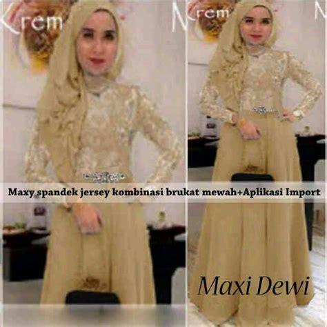 Baju Muslim Wanita Maxi Dewi Pink dress kebaya modern murah quot maxi dewi quot