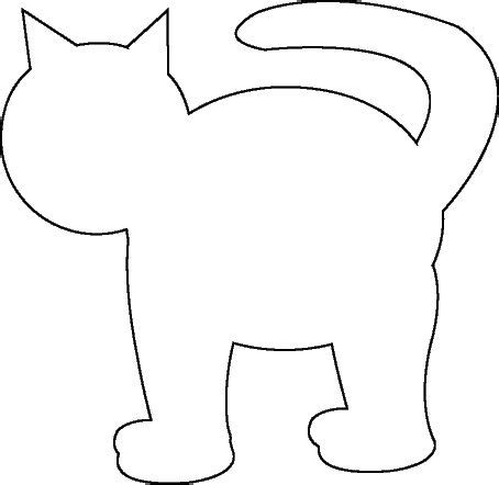 pete the cat template cat template preschool ideas kittens cat