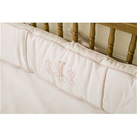 monogrammed crib bedding monogrammed crib bedding by for featured at