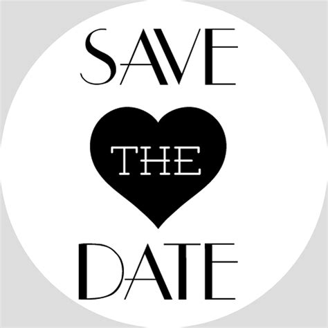 save the date hand drawn lettering and gold hearts for design