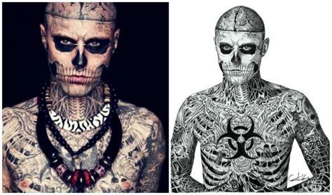 world s most tattooed man the world s most tattooed rumor