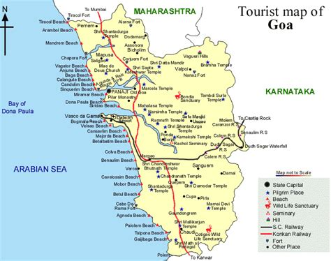 Goa Search Goa Tourist Map Search Engine At Search