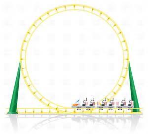 roller coaster vector roller coaster vector image 22542 rfclipart