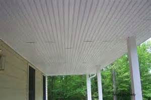 Porch Ceiling Panels Porch Ceilings Installing Vinyl Bead Board Ceiling