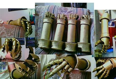 vincent gauntlet template vincent gauntlet 2 0 by 6 fingers on deviantart