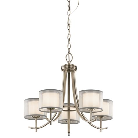 Antique Pewter Chandelier Kichler Tallie Antique Pewter Five Light Chandelier On Sale