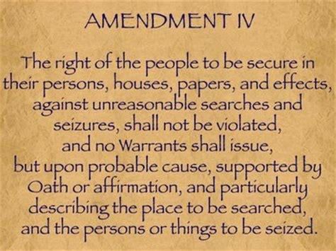 Search Warrant Constitution Fourth Amendment Afreemanecs