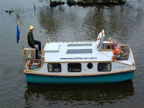 home built boat plans pedal powered shanty boat this tiny house