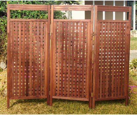 Outdoor Room Dividers Outdoor Screen Dividers Ideas 4 Homes
