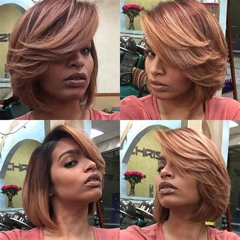 the hobre look on bobs haiecuts 50 short hairstyles for black women stayglam