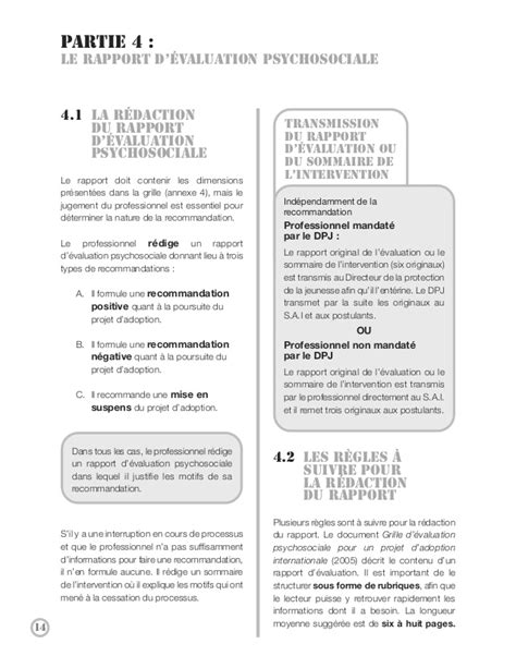 Lettre De Recommandation Adoption Guide Adoption Internationale 2011