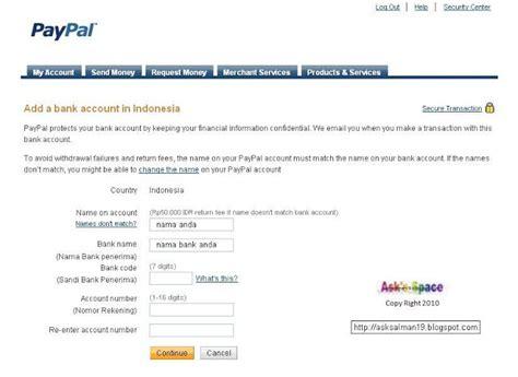 bagaimana membuat paypal tanpa kartu kredit verivikasi paypal tanpa kartu kredit hidayat blog s