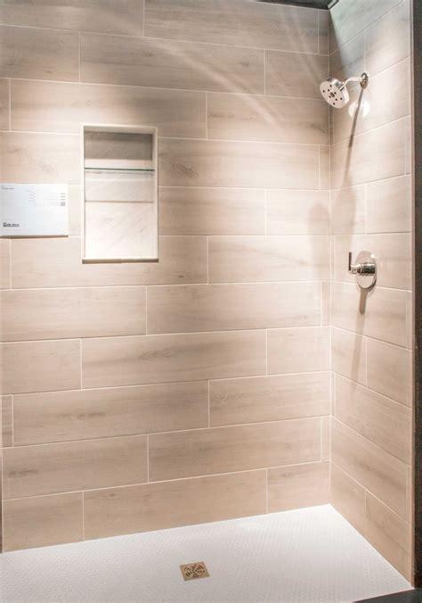 faux wood tile bathroom bathroom shower wall tile bosco cenere faux wood wall
