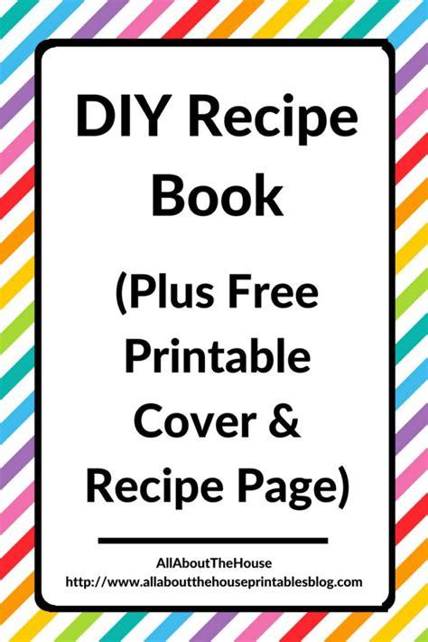 Recipe Book Printable