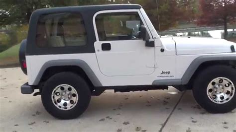 mail jeep for sale hd video 2003 jeep wrangler rhd right hand drive mail