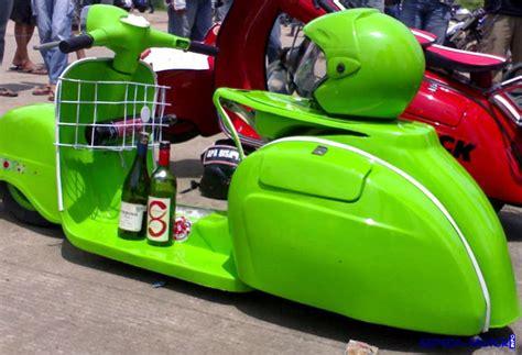 Modifikasi Vespa Gokart by Vespa Pakem Dan Modelnya Info Sepeda Motor