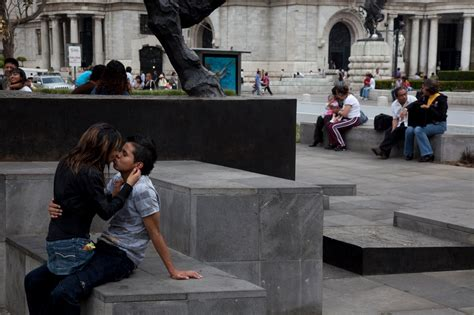nytimes mexico city in mexico city kissing tells of more than romance the
