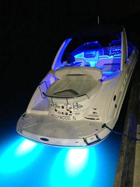 boat lights in water lifeform 9 underwater led boat light underwater led