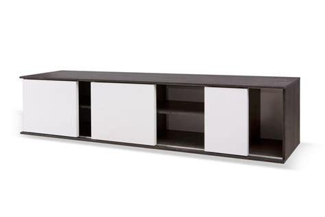 id 233 e meuble tv bas porte coulissante