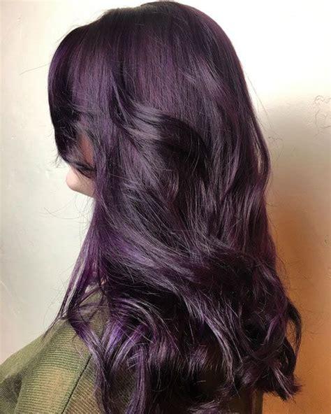 plum colored hair 10 plum hair color ideas for plum hair colour