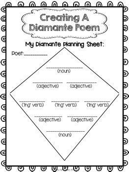 Diamante Poem Templatenokiaaplicaciones Com Nokiaaplicaciones Com Writing A Poem Template