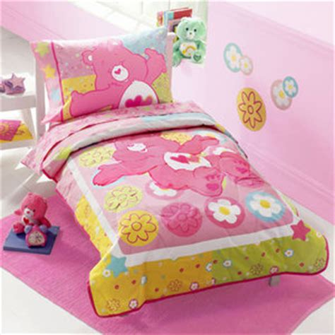 Care Bedding by Care Bears Sweetness 4 Toddler Bedding Set