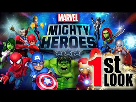 co op android marvel mighty heroes 4 players co op comes to ios android 1st look gameplay