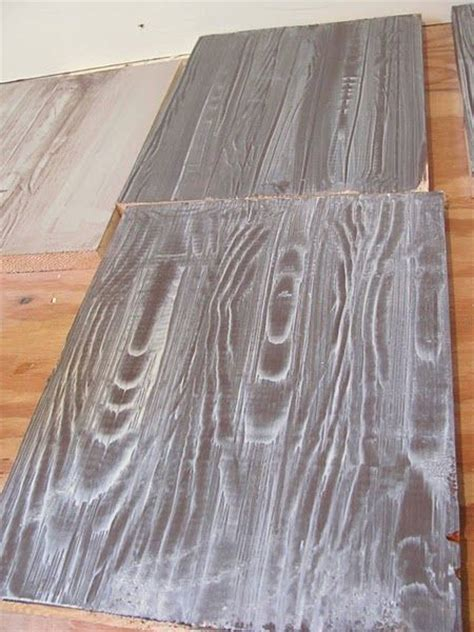 faux painting wood grain faux wood floors with a wood grain tool simply genius