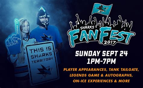 fan fest tickets 2017 san jose sharks 2017 fan fest sap center